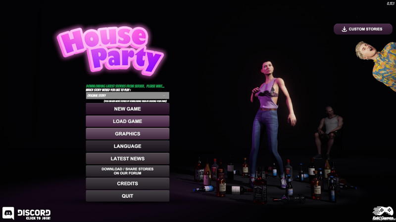 House Party Game Walkthrough Download for PC